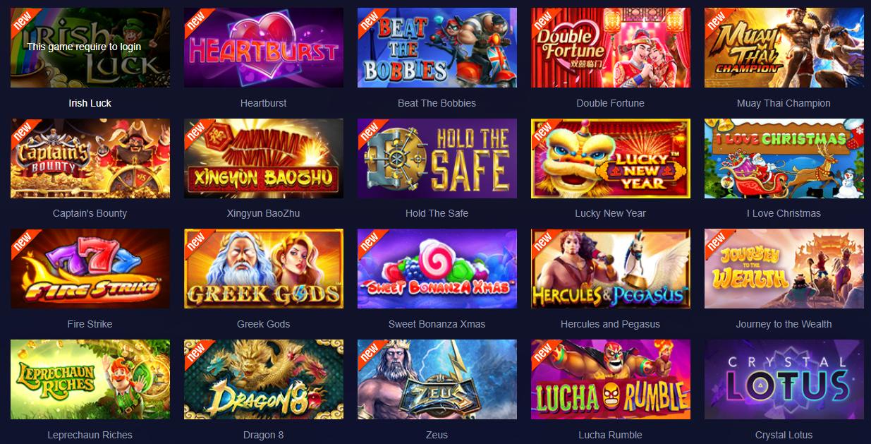 Daftar Permainan Slot Sbobet Terbaru